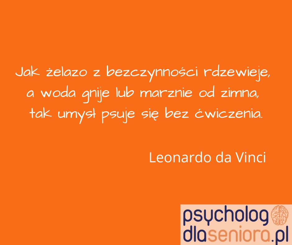 Umysł psuje się bez ćwiczenia