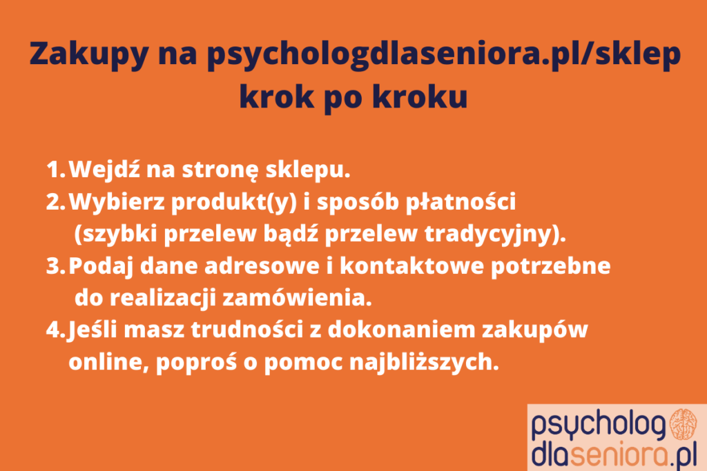 zakupy na psychologdlaseniora.pl/sklep krok po kroku
